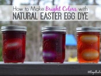 How to Make Bright Colors with Natural Easter Egg Dye