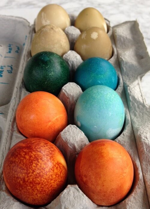 How To Get Easter Eggs Bright and Vibrant When Dyeing. It is EASTER time. Time to dig through the boxes in the garage to find our much used Easter baskets. Buy a dozen eggs, a PAAS dyeing kit, and some vinegar and get down to some egg coloring. I have .