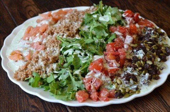 Chopped Salad on 100 Days of #RealFood