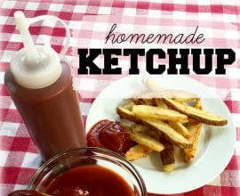 Recipe: Homemade Ketchup with Honey on 100 Days of #RealFood