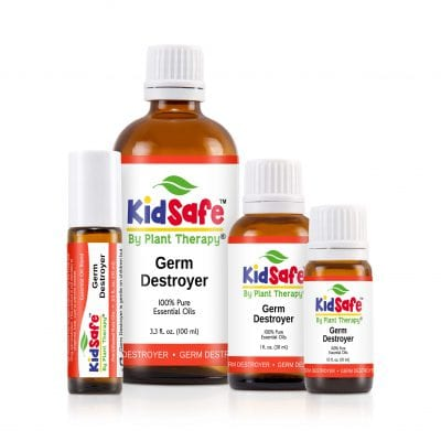 Essential Oils Giveaway and a Beginner's Guide (KidSafe Germ Destroyer) on 100 Days of #RealFood