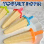 Orange #Creamsicle Yogurt Pops on 100 Days of #RealFood