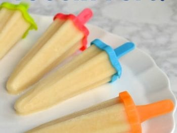 Orange Creamsicle Yogurt Pops