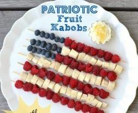 #Patriotic Kabobs on 100 Days of #RealFood