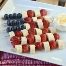 Snack Size Patriotic Kabobs1 210x210 - Patriotic Fruit Kabobs with Honey Cream Dip