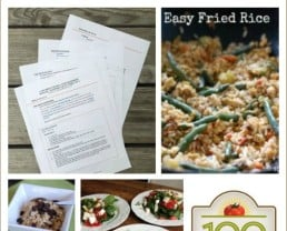1-Day Menu for Real Food Beginners