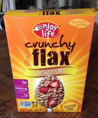 Enjoy Life Flax Cereal on 100 Days of #RealFood