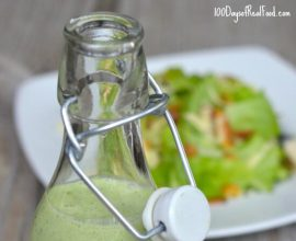 Green Goddess Dressing on 100 Days of #RealFood