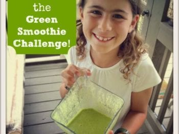 Green Smoothie Challenge on 100 Days of #RealFood