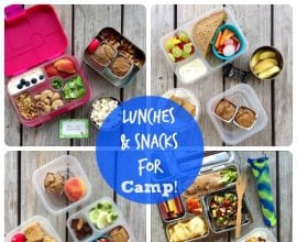 Lunches and Snacks for Camp on 100 Days of #RealFood