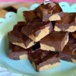 No-Bake Peanut Butter Dessert Bars on 100 Days of #RealFood