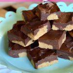 No-Bake Peanut Butter Dessert Bars on 100 Days of #RealFood
