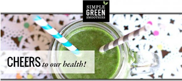 30-Day Green Smoothie Challenge on 100 Days of #RealFood
