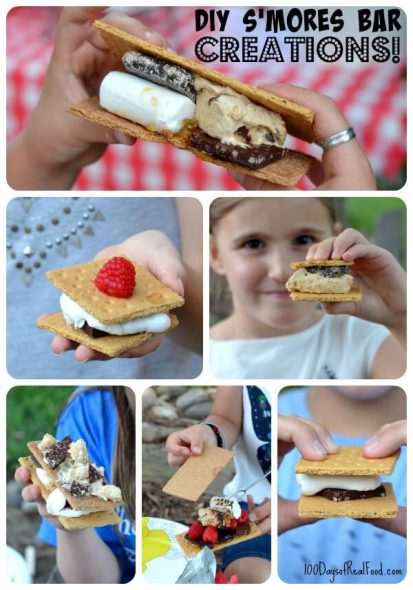 Smores Bar Creations on 100 Days of #RealFood