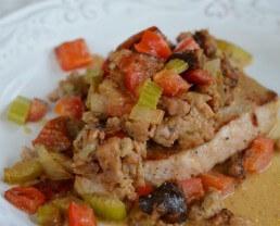 Unstuffed Pork Chops Recipe