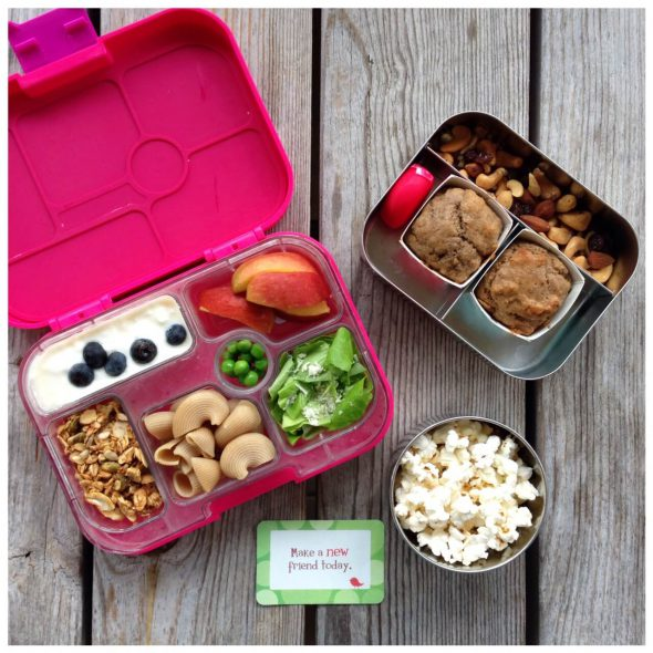 Lunch and Snack Ideas for Camp on 100 Days of #RealFood