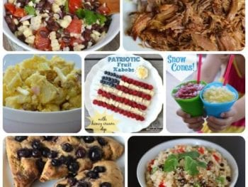 4th of July Real Food Recipe Roundup!