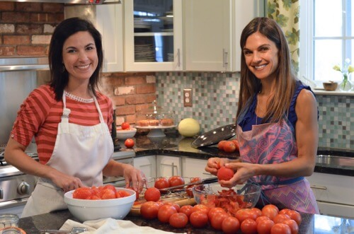How to can tomatoes on 100 Days of #RealFood