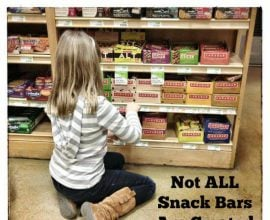 Not all snack bars are created equally on 100 Days of #RealFood