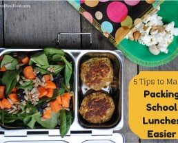 5 Tips to Make Packing Lunches Easier