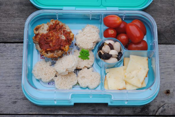 making school lunch fun on 100 Days of #RealFood