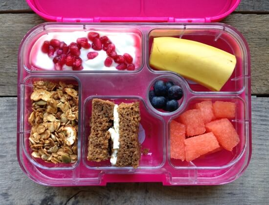 Granola breakfast for lunch on 100 Days of #RealFood