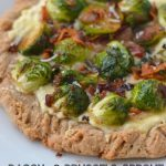 Bacon and Brussels Sprout Pizza on 100 Days of #RealFood