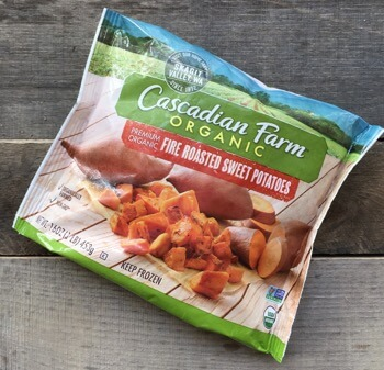 Easy Taco Pie using Cascadian Farm Organic sweet potatoes on 100 Days of #RealFood