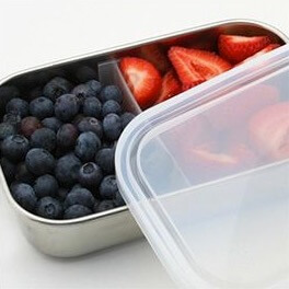 School Lunch Accessories on 100 Days of #RealFood (container)