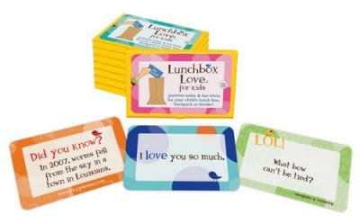 School Lunch Accessories on 100 Days of #RealFood (Lunchbox Love cards)