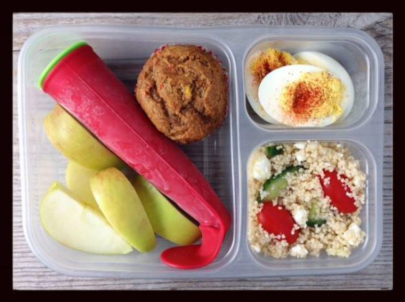 Real Food School Lunch Roundup VII on 100 Days of #RealFood