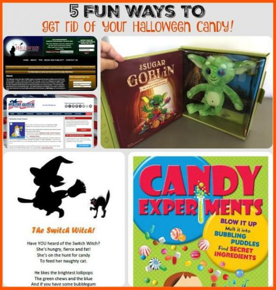 5 Fun Ways to get rid of your Halloween Candy