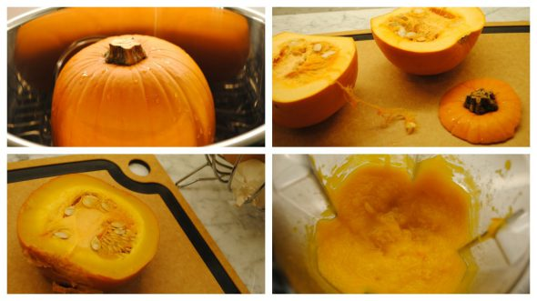 From pumpkin to puree