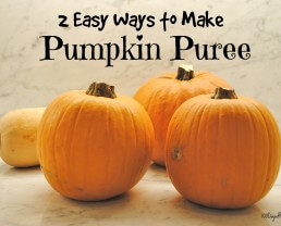 2 Easy Ways to Make Pumpkin Puree