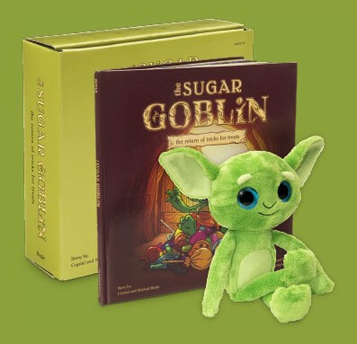 Get rid of your Halloween Candy with the Sugar Goblin on 100 Days of #RealFood