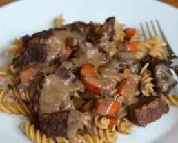 Weeknight Beef Bourguignon