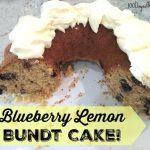 Blueberry Lemon Bundt Cake on 100 Days of #RealFood