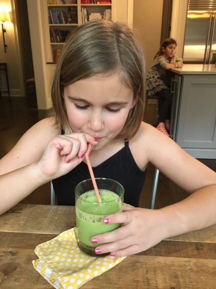 Simple Green Smoothies on 100 Days of #RealFood