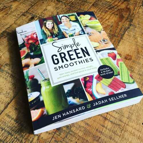 Simple #GreenSmoothies book on 100 Days of #RealFood