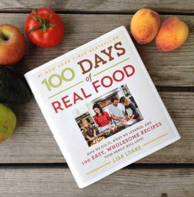 #StockingStuffers for Real Food Cooks on 100 Days of #RealFood - cookbook