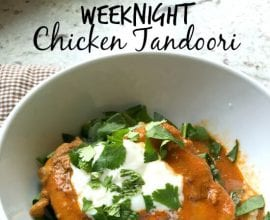 Tandoori Chicken on 100 Days of #RealFood
