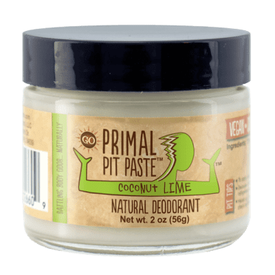 Primal Pit Paste Natural Deodorant on 100 Days of #RealFood