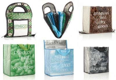 #StockingStuffers for Real Food Cooks on 100 Days of #RealFood - My Eco reusable grocery bags