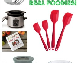 10 Stocking Stuffers for Real Foodies (for 2015!)