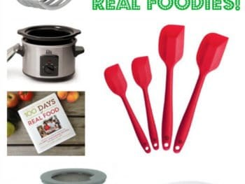 #StockingStuffers for Real Food Cooks on 100 Days of #RealFood