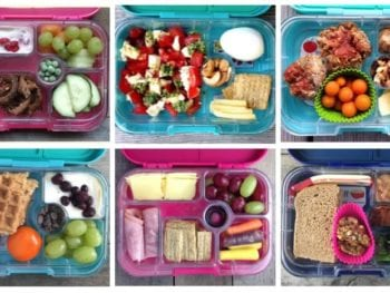 Yumbox Lunches on 100 Days of #RealFood