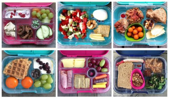 Lunchbox Ideas for Your Yumbox on 100 Days of #RealFood