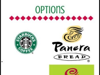 4 Fast Food Chains for Post Final 350x263 - 4 Fast Food Chains with Decent Options