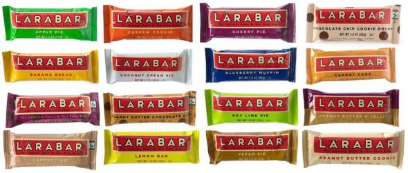 LÄRABAR - A Bar That's Real Food (+ a giveaway!) on 100 Days of Real Food