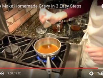 Homemade Gravy on 100 Days of #RealFood